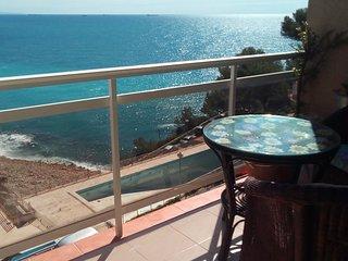 Apartamento con fantásticas vistas al mar