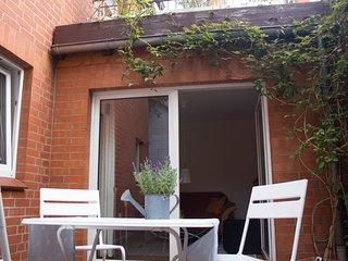 Stadtflucht Luneburg - niedliche Ferienwohnung im Hinterhaus EG
