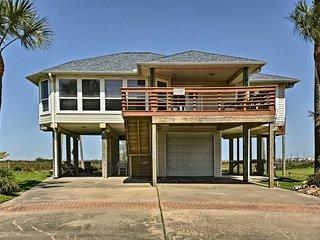 Private Galveston House w/Hot Tub, Deck & Views!