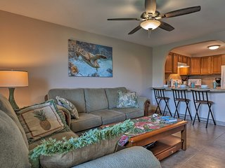 This home offers 2 bedrooms, 2 bathrooms, and room for 4.