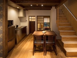 NEW! MACHIYA VILLA Suite x 2 BEDROOM & 2 Toilet x Kitchen x WiFi x walk to GION