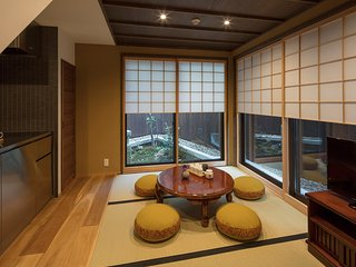 NEW! MACHIYA VILLA Traditional x 2 BEDROOM x FREE WiFi x 10 min. to GION (55m2)