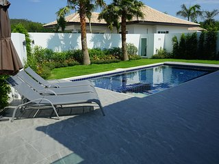 3 bed pool villa