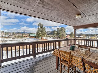 NEW! Pagosa Springs Home w/ Views and Game Room!