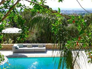 Idylisches Landhaus mit Blick auf Palma