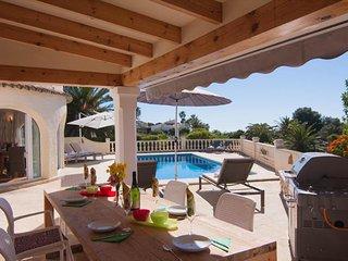 Villa Romantica en Benissa,Alicante para 8 huespedes