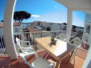 RECOMENDADO Super confortable apartamento a 90m de la playa Riells para  4 p