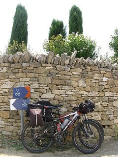 De nombreux circuits pour vélo aux alentours