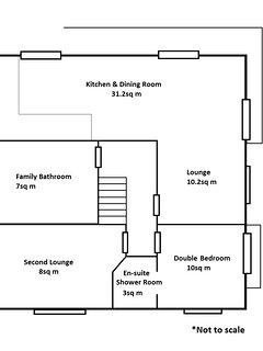 Villa floorplan - downstairs