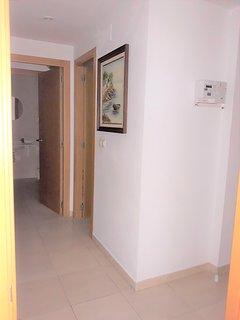 modern hall way