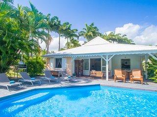 Villa Cézanne - Villa créole avec piscine privée en bord de mer