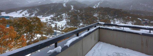 Thredbo Elevation 1 Balcony