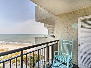 Cozy Myrtle Beach Resort Condo - Steps from Beach!