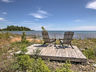 New! 2BR De Tour Village Cabin on Lake Huron!