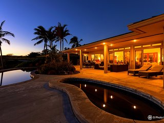 Mana Kai at Kohala Ranch, Panoramic Ocean View Luxury Home in the Heathers