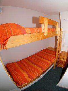 Upper bunks