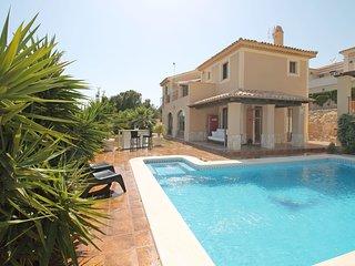 4 bedroom Villa in Carrefour Benidorm, Valencia, Spain : ref 5585989