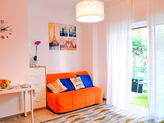 Lifestyle colorful family apartment