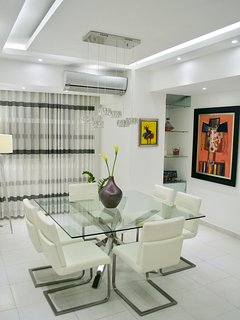 DINING AREA WITH A/C FLOATING CEILING
