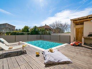 Villa Ganto - Villa contemporaine et sa piscine, pour un sejour en famille