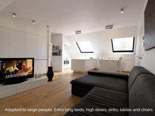 Stay In Ghent : Modern Luxury Apartment city Centre Ghent