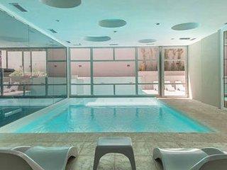 Duplex de lujo,Spa, piscina caliente propia,sala cine, a metros de la playa,saun