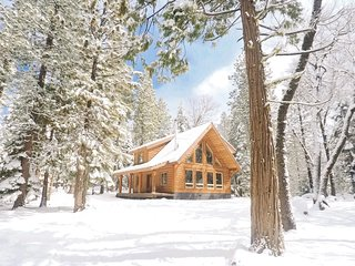 Cozy Log Cabin On Three Private Acres Next to Lassen National Park