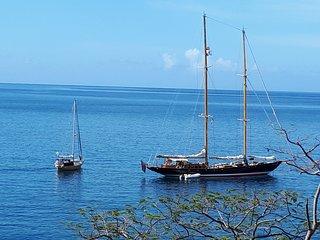 Gîte KAJOU vue sur mer