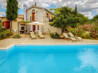 Stone house for rent with pool, Krk island