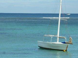 Villa Alexis en bord de mer a Trou aux Biches