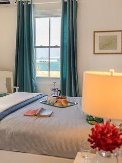 Sea views from Queen Bedroom # 1