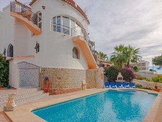 Villa Marso en Benissa,Alicante,para 8 huespedes