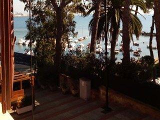 Impareggiabile vista mare con parco e discesa alla baia