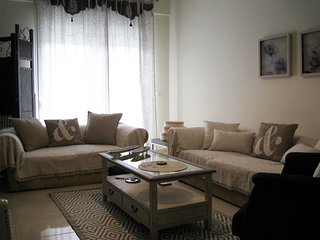 Grand LUX New 2 BedRooms Apt Near by Sea in Epanomi Town