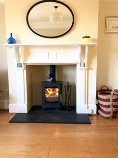 A Log Burner for those cold days.