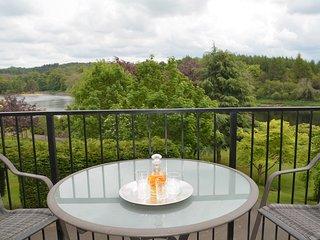 Enjoy a wee dram enjoying the river views