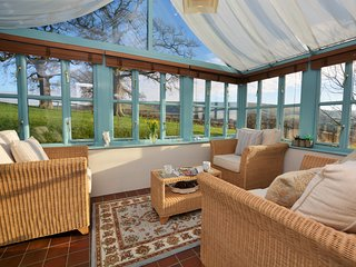 Conservatory with far reaching views