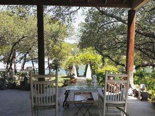 Bring the Boat and Don't Forget the Dog! 150' of Lake Travis Waterfront Property