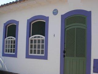 A Casa de Paulo Autran no Centro Histórico de Paraty