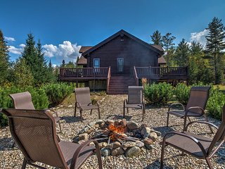 NEW! 'Trailside' Twin Mountain Cabin on 5 Acres!