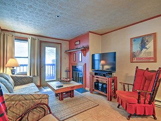 NEW! Cozy Claysburg Ski Resort Condo w/Pool Access