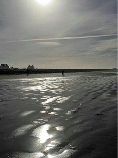 the beach at Penhors, 7km away