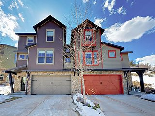 Retreat at Jordanelle w/ Private Hot Tub - Luxe 5BR Near Slopes & Main Street