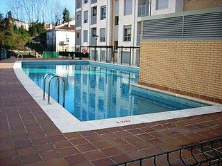 Atico con 2 terrazas y piscina comunitaria en Posada de Llanes (2 hab - 5 pax)