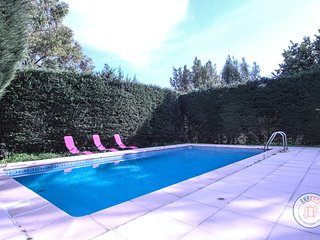 Beautiful villa with neo-Provençal influences in Vallauris, near Cannes.