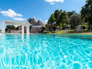 Trulli Santa Maria dei Grani: Holiday Rental Trulli with private pool