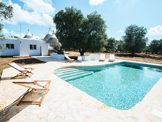 Trullo Kailia: Authentic Countryside Trullo with Pool