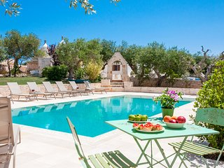 Trulli & Taralli: Authentic and Peaceful Trulli with Private Pool