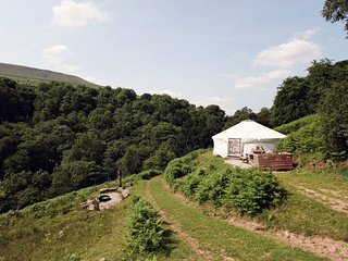 42894 Log Cabin situated in Crickhowell (3mls NE)