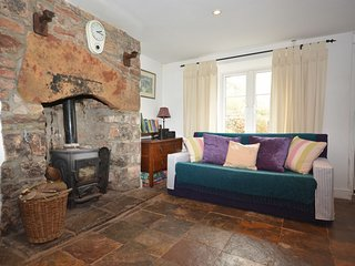 Beautiful inglenook fireplace